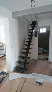 Escalier acier sur mesure