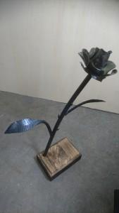 Rose sculptée
